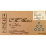 Developer Copiator Ricoh D0149660 Cyan 450000 Pagini for Aficio MP C6000, Aficio MP C7500