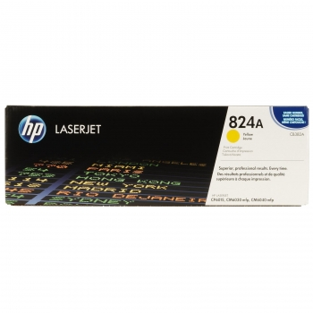 Cartus Toner HP Nr. 824A Yellow 21000 Pagini for Color LaserJet CM6030 MFP, CM6030F MFP, CM6040 MFP, CM6040F MFP, CP6015DN, CP6015N, CP6015XH CB382A