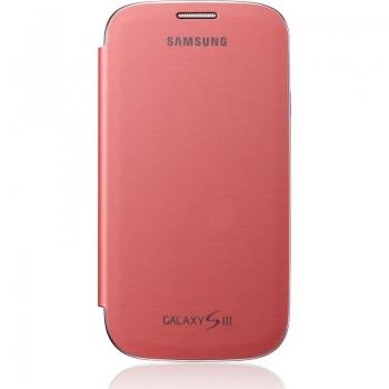 Husa Samsung Flip Cover pentru i9300 Galaxy S III Pink EFC-1G6FPECSTD