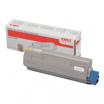 Cartus Toner Oki 44315305 Yellow 6000 Pagini for C610DN, C610N