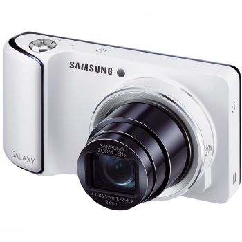 Camera Foto Digitala Samsung Galaxy Camera EK-GC100 16.3 MP Zoom Optic 21x OIS 3G WiFi Android 4.1 8GB White EK-GC100ZWABGL