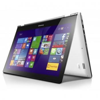 "Laptop Lenovo IdeaPad Yoga 500, 15.6"" FHD (1920x1080), Multi-Touch LED-backlight, Intel Core i7-5500U (2.4GHz, up to 3.0GHz, 1600Mhz, 4MB), video dedicat nVidia GT-940M 2GB, RAM 8GB DDR3 1600Mhz (1x8GB), SSHD 1TB 5400rpm + 8GB, no ODD, Card Reader 4-"