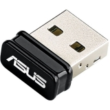 ASUS, Wireless N USB NANO Adapter, 802.11n, 150Mbps
