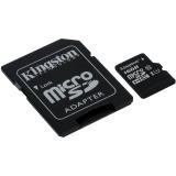 Card Memorie MicroSDHC Kingston 16GB Clasa 10 UHS-I + Adaptor SD SDC10G2/16GB