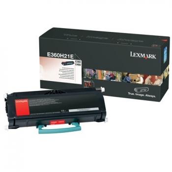 Cartus Toner Lexmark E360H21E Black 9000 pagini for E460dn, E460dw, E360dn, E360d, E462dtn