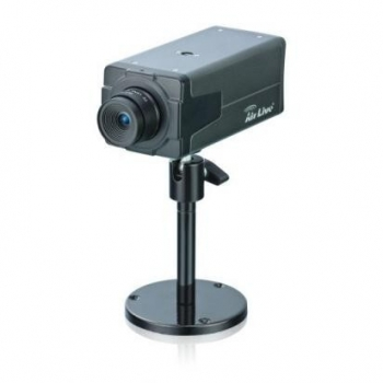 "Camera de supraveghere IP AirLive POE-100CAMv2 1/4"" CMOS 640x480 4mm MPEG-4 M-JPEG Retea"