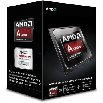 Procesor AMD Vision A6-Series X2 A6-6400K Black Edition Dual Core 3.9GHz Cache L2: 1MB Socket FM2 Unlocked AD640KOKHLBOX