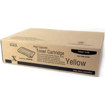 Cartus Toner Xerox 106R00682 Yellow High Capacity 5000 Pagini for Phaser 6100