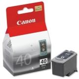 Cartus Cerneala Canon PG-40 Black 195 Pagini for Canon Pixma IP1200, IP1300, IP1600, IP1700, IP1800, IP1900, IP2500, IP2600, MP190, MP210, MP220, IP2200, MP150, MP160, MP170, MP180, MP450, MP460 BS0615B001AA