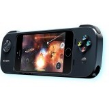 Model : PowerShell Controller + Battery, Tip accesoriu : iPhone 5/5s, iPod touch Gamepad, Compatibilitate : IOS 7 support, Integrated 1500 mAh battery, 8-way analog directional pad (D-pad), 2 analog shoulder buttons, 4 analog buttons, Pause button, Wrist