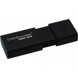 Memorie USB Kingston DataTraveler 100 G3 128GB USB 3.0 Black DT100G3/128GB
