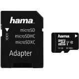 Card Memorie Hama MicroSD 32GB Clasa 10 + adaptor SD 124139