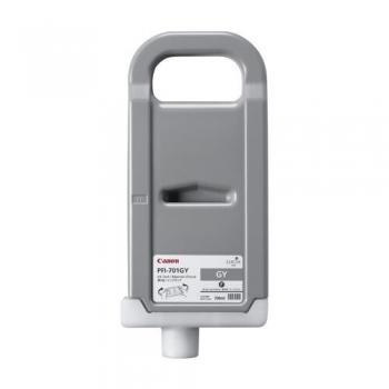 Pigment Ink Tank Canon PFI-701GY Grey 700 ml for iPF8X00, iPF8000S, iPF9X00, iPF9000S CF0909B001AA
