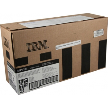 Cartus Toner IBM Return 53P7707 Black 10000 Pagini for Infoprint 1222, Infoprint 1222D, Infoprint 1222DN, Infoprint 1222N