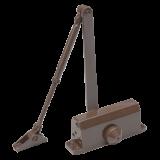 Amortizor hidraulic cu brat Silin SA-5012AWB , maro Pentru usi cu greutatea de 25-45 kg; latime usa 900mm Ulei hidraulic termostabil Viteza de inchidere reglabila,Montare stanga sau dreapta
