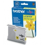 Cartus Cerneala Brother LC970Y Yelow capacitate 300 pagini for Brother DCP-135C, DCP-150C, DCP-153C, DCP-157C, DCP-235C, DCP-260C, MFC 260C