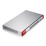 ZyWALL USG-310 Firewall Appliance 10/100/1000, 8 configurable ports, 1 x OPT, 2 x USB, 105 x VPN Tunells, rack mounted, Wireless Controller for up to 18 (2 default) NWA3000-N/5000-N series of APs, included 1-year licenses of IDP, Antivir (Kaspersky), Ant