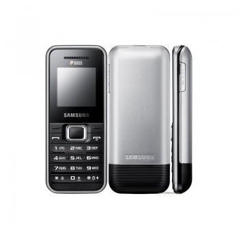 Samsung E1182 DUAL SIM Silver 1.52 inch SAME1182SLV