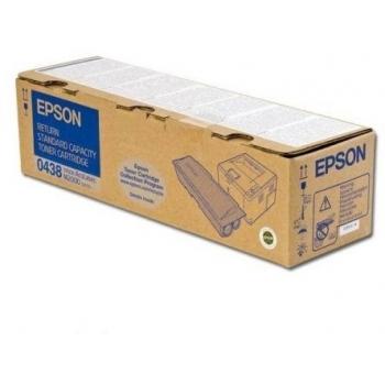 Cartus Toner Epson C13S050438 Black Standard Capacity 3500 Pagini for Aculaser M2000D, M2000DN, M2000DT, M2000DTN