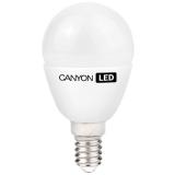 CANYON PE14FR3.3W230VN LED lamp, P45 shape, milky, E14, 3.3W, 220-240V, 150°, 262 lm, 4000K, Ra>80, 50000 h
