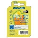Black Ink Cartridge for FAXLAB200/210/250/260/600,JETLAB500,JP150/W/WS,JP170/190/192/250/270/350/360/370/450/470, LINFAX1000/1100/1200/1900/2100/2200/3100/3200/500,OFX180/1900/2100/2200/3100/3200/500/520/525/540/550/580- FPJ20