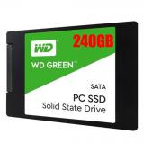 """SSD Western Digital Green 240GB SATA 3 2.5"""" WDS240G1G0A"""