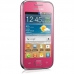 "Telefon Mobil Samsung Galaxy Ace S6802 Duos Pink Dual SIM 3.5"" 320 x 480 832MHz memorie interna 3GB Android v2.3 SAMS6802PINK"