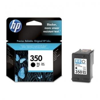 Cartus Cerneala HP Nr. 350 Black Vivera Ink 200 Pagini for Deskjet D4260, D4280, D4360, Photosmart C4480, C4580, OfficeJet J5780, Photosmart C4280 AIO, OfficeJet J6140, Photosmart C5200, C5280 AIO, D5360 CB335EE