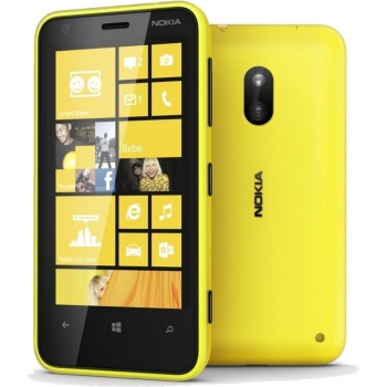 "Telefon Mobil Nokia Lumia 620 Yellow 3.8"" 480 x 800 Krait 1 GHz Dual Core memorie interna 8GB Windows Phone 8 3G NOK620YLW"