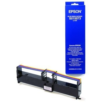Ribbon Epson C13S015073 Color for Epson LX-300+, LX-300+II