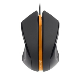 Mouse A4Tech N-310 V-Track 3 Butoane 1000 DPI USB Black/Orange N-310-1