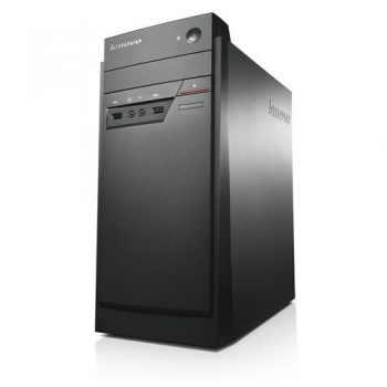 Desktop Lenovo Thinkcentre E50-00 Mini-Tower, Intel Celeron J1800 (2.41GHz, up to 2.58GHz, 1MB), video integrat Intel HD Graphics, RAM 4GB DDR3 1600MHz (1x4GB), HDD 500GB 7200rpm, DVD-Rambo, LAN 10/100/1000, Porturi: 4xUSB 2.0, 1xUSB 3.0, 1x VGA, 1xRJ45,