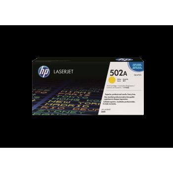 Cartus Toner HP Nr. 502A Yellow 4.000 Pagini for Color LaserJet 3600, Color LaserJet 3600N Q6472A