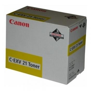 Cartus Toner Canon C-EXV21Y Yellow 14000 Pagini for IR C2380I, IR C2880, IR C2880I, IR C3080, IR C3080I, IR C3380, IR C3380I, IR C3580, IR C3580I CF0455B002AA