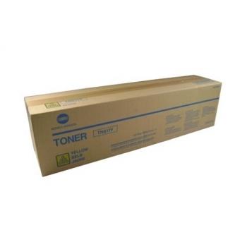Cartus Toner Konica Minolta TN-611Y Yellow 27000 pagini for Minolta Bizhub C451, C550, C650 A070250