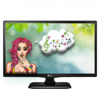 "Monitor LED LG 18.5"" 19M38A-B 1366x768 VGA 5ms"