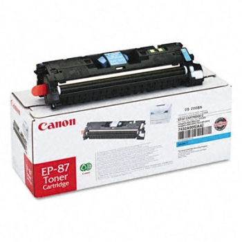 Cartus Toner Canon EP-87C Cyan 4000 Pagini for LBP 2410 CR7432A003AA