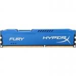 Memorie RAM Kingston HyperX Fury 8GB DDR3 1600MHz CL10 HX316C10F/8