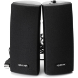 Boxe 2.0 Spacer RMS 3Wx2 black Alimentare USB SPB-A30