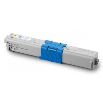 Cartus Toner Oki 44469704 Yellow 2000 Pagini for C310DN, C330DN, MC561DN, C510DN, C530DN