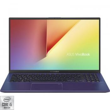 Laptop ASUS 15.6'' VivoBook 15 X512JA FHD Procesor Intel Core i5-1035G1 (6M Cache, up to 3.60 GHz) 8GB DDR4 512GB SSD GMA UHD No OS Blue