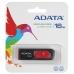 Memorie USB ADATA Classic C008 16GB USB 2.0 Negru-rosu AC008-16G-RKD