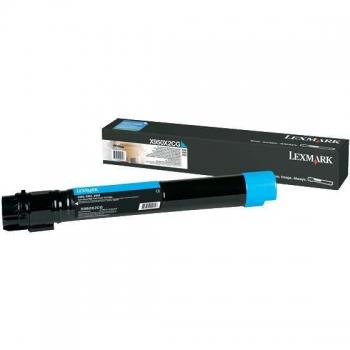 Cartus Toner Lexmark X950X2CG Cyan Extra High Yield 22000 pagini for X950DE, X952DE, X954DE