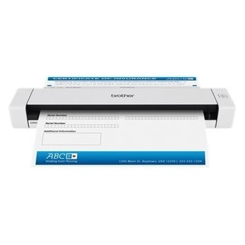 Brother DS620Z1 | A4 | CMOS Single CIS | Scaner mobil | USB 2.0 | 600 x 600 DPI | 48 bit | 24 bit | 980 kg | 352 x 232 x 60 mm | 216 mm | 356 mm | alimentare hartie 1 coala | Alimentare prin USB 5V AC | formate de fisiere suportate: Searchable1 PD