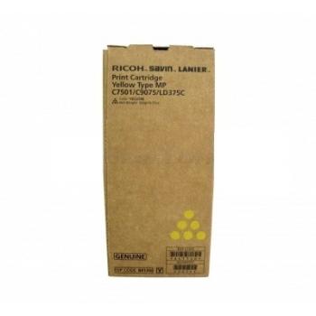 Cartus Toner Ricoh 841411 Yellow 21600 Pagini for Aficio MP C6501SP, Aficio MP C7501SP