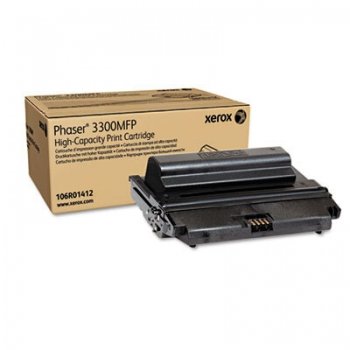 Cartus Toner Xerox 106R01412 Black High Capacity 8000 Pagini for Phaser 3300MFP