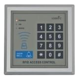 Controler cu cititor de proximitate incorporat si cu tastatura digitala YK-168 , Cartele 125KHz (EM4100 sau compatibil)