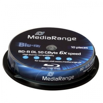 Blu-Ray Omega Freestyle 50GB 6X 10 Bucati QDBD-ROM50GBINK/10