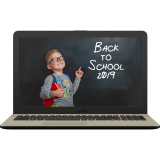 Laptop ASUS 15.6'' VivoBook 15 X540UB FHD i7-8550U (8M Cache, up to 4.00 GHz) 8GB DDR4 1TB GeForce MX110 2GB Endless OS Chocolate Black