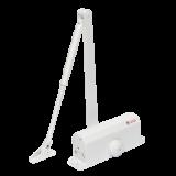 Amortizor hidraulic cu brat Silin SA-6033AWW , alb Pentru usi cu greutatea de 40-65 kg; latime usa 950mm Viteza de inchidere reglabila Montare stanga sau dreapta